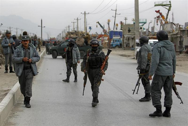 at least 22 afghan police killed in taliban ambush officials say