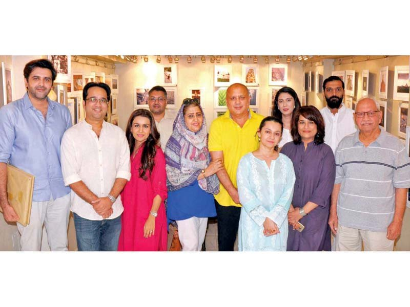 lkmwt holds photo exhibition to raise funds for medical camps