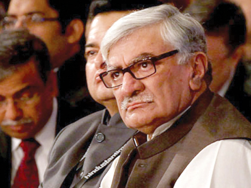 Asfandyar Wali Khan. PHOTO: FILE