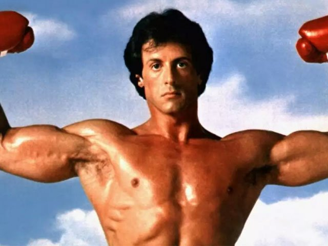 sylvester stallone hanging up his rocky gloves