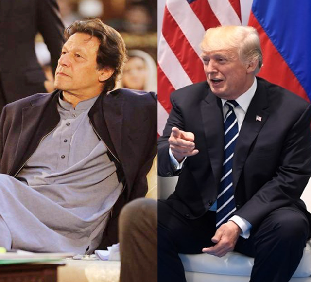 trump seeks pakistan s support in peace talks with afghan taliban