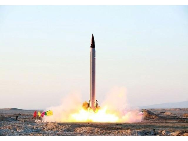 Iran denies it is seeking a nuclear weapon and says the tests are part of its legitimate defence programme. PHOTO: AFP