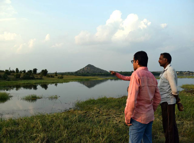 lake in india drained after discovery of hiv infected body