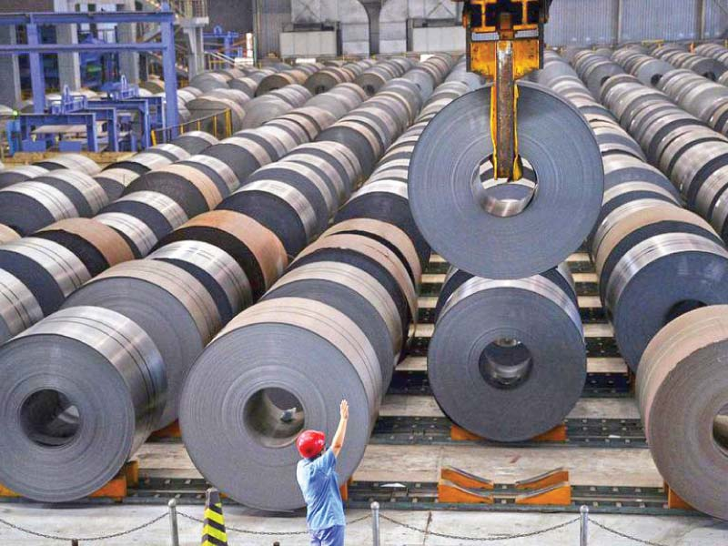 industry worried as steel dumping rises in country