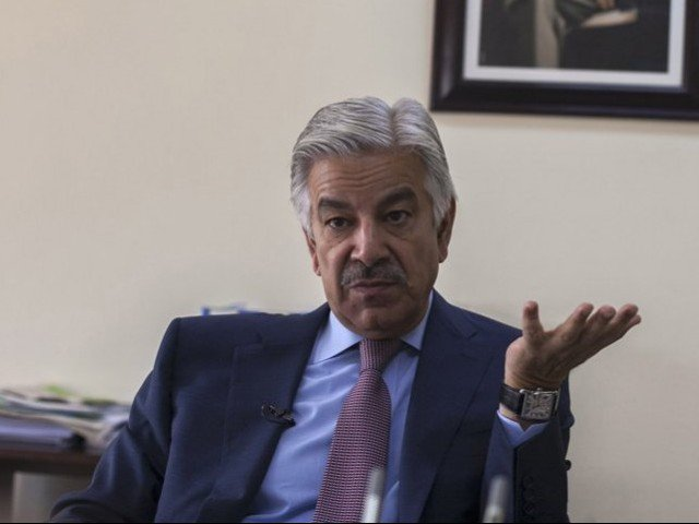 no threat to govt if pm imran can talk less says khawaja asif