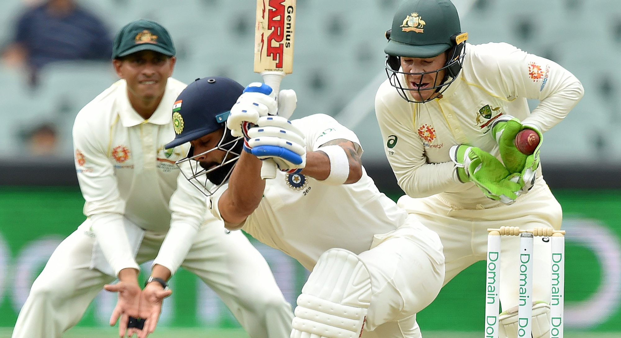 india take stranglehold on adelaide test