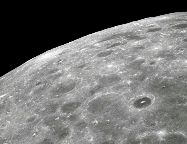 no lander or rover has ever touched the surface of the far side of the moon seen in this 1968 photo nasa