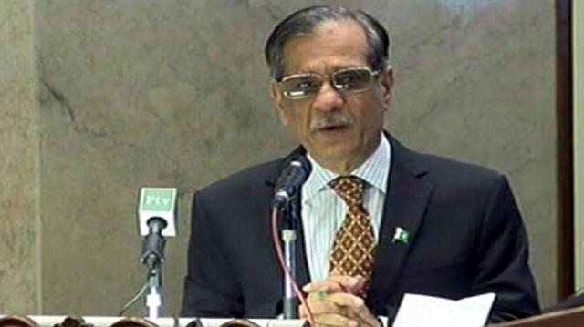 cjp laments deplorable situation in balochistan