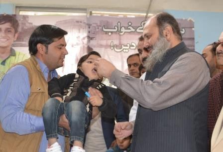 province launches final push against polio virus