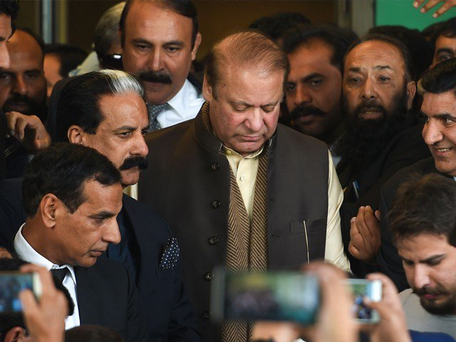 A file photo of PML-N supremo Nawaz Sharif. PHOTO: FILE