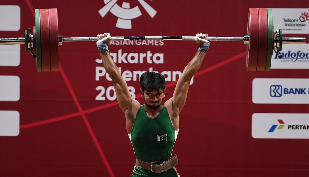 talha bags gold in snatch overall silver in weightlifting championship
