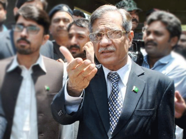 Justice Nisar is expected to vist the Thar coal project and Mithi's district hospital.  PHOTO: EXPRESS