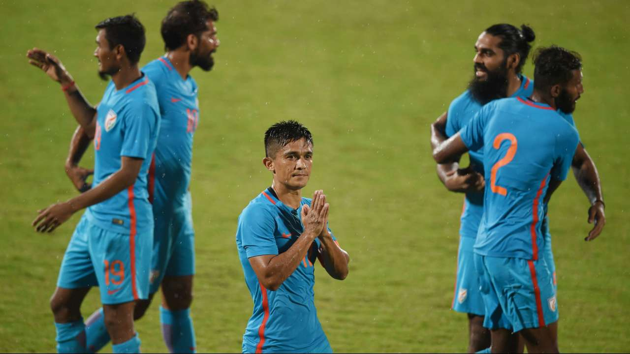 playing top asian sides key for india says captain chhetri
