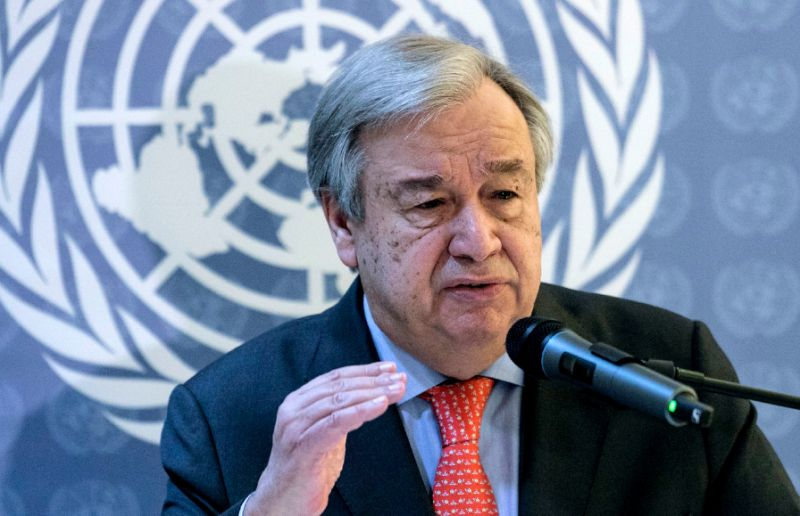 UN chief Antonio Guterres is scheduled to attend the last day of the Yemen talks in Sweden on Thursday. PHOTO: AFP