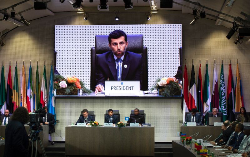 OPEC and some non-OPEC producers decide to cut output by 1.2m bpd for six months from January. PHOTO: ONLINE