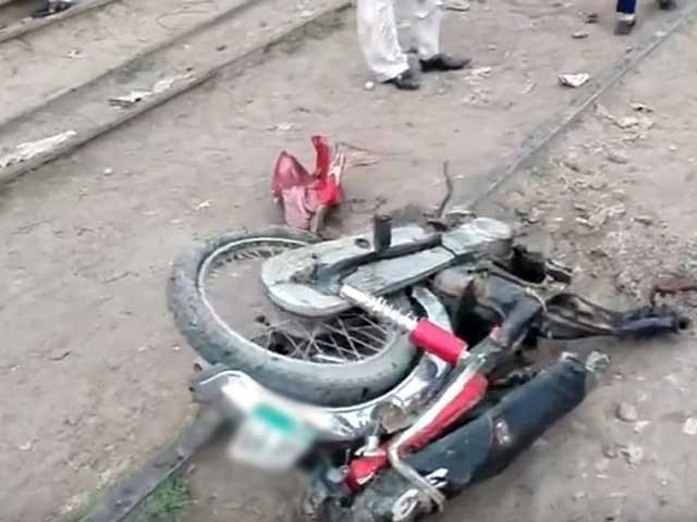 biker dies in collision with ambulance in islamabad