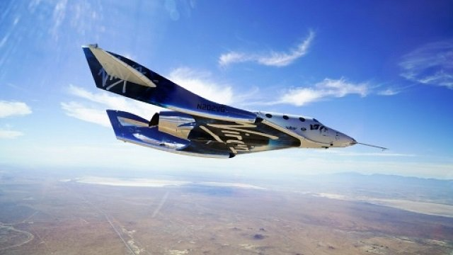 virgin galactic s new flight test to soar closer to edge of space