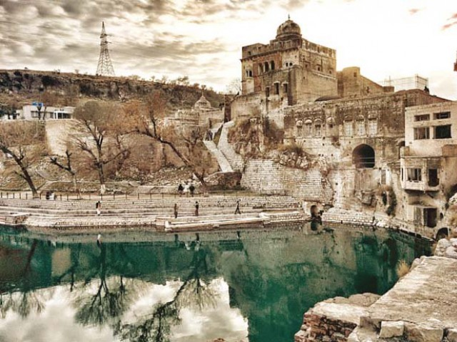 A file photo of Katas Raj Temples. PHOTO: EXPRESS