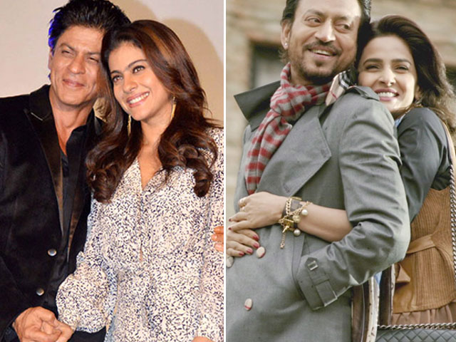 srk kajol to replace irrfan saba as lead pair in hindi medium 2 indian media