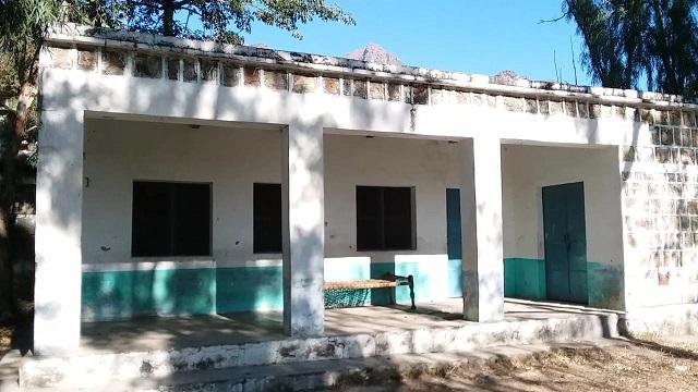 abandoned girls primary school in mardan photo express