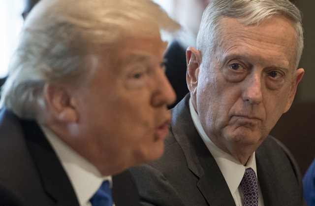 trump s defense secretary jim mattis resigns