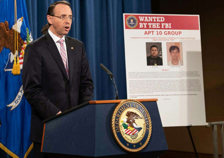 us charges two chinese over alleged state sponsored hacking