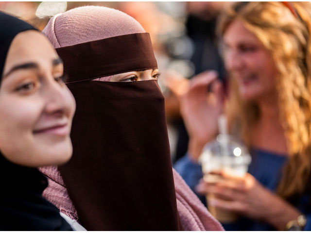 Critics of the bill claim that the aim of this law is to discourage Muslims from seeking Danish citizenship. PHOTO: REUTERS