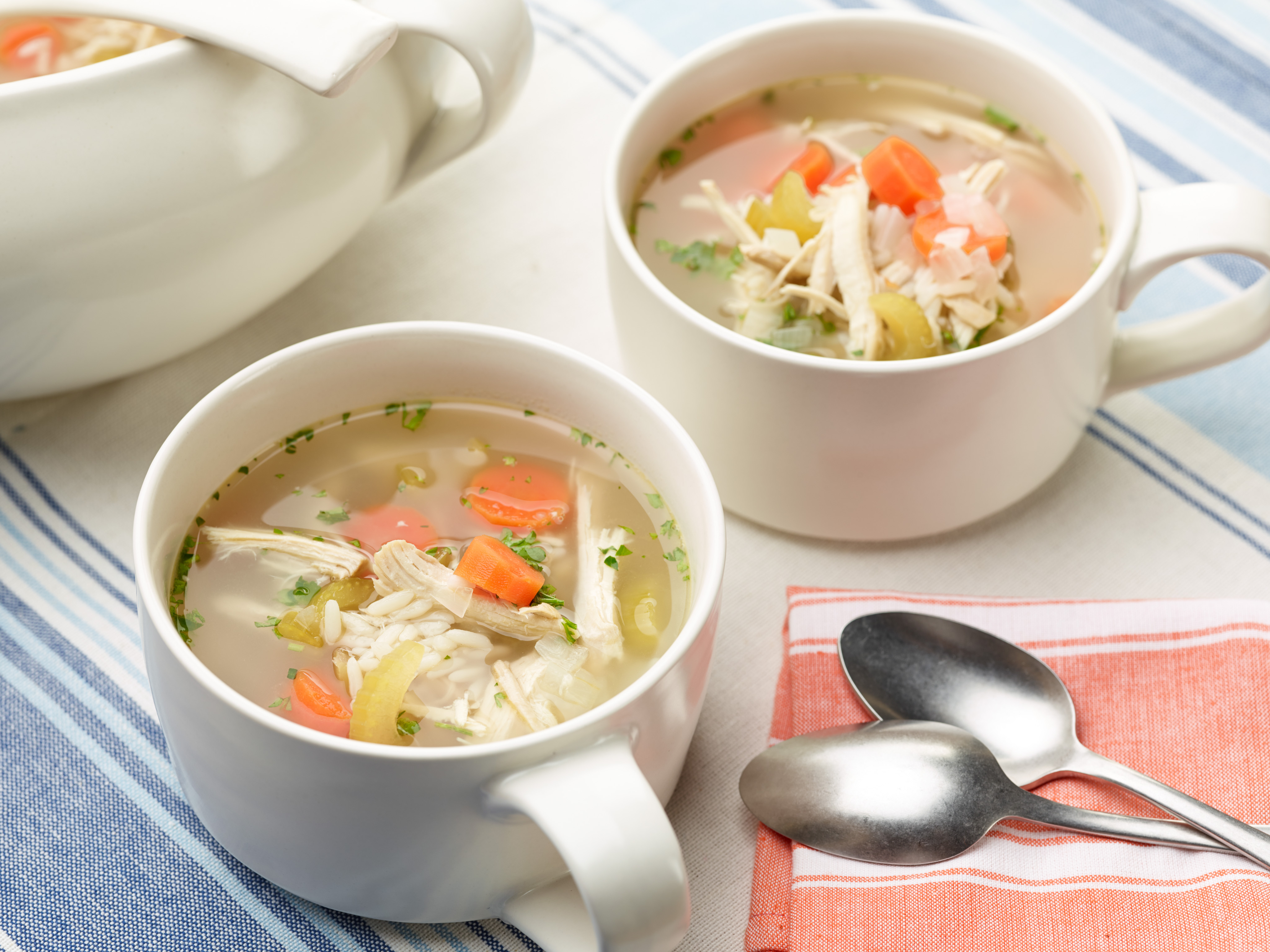 why is chicken soup so good for you