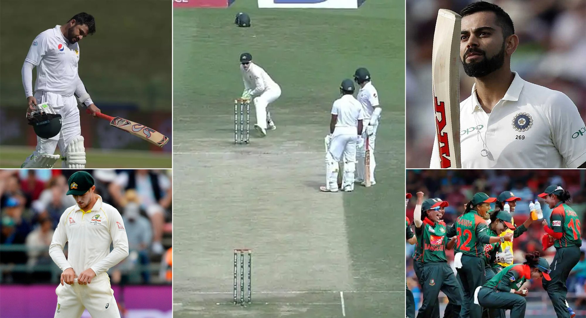 most memorable cricketing moments from 2018