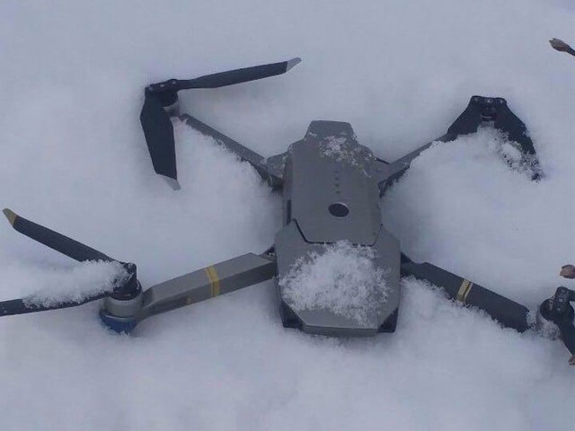 pakistan army shoots down indian spy drone over loc
