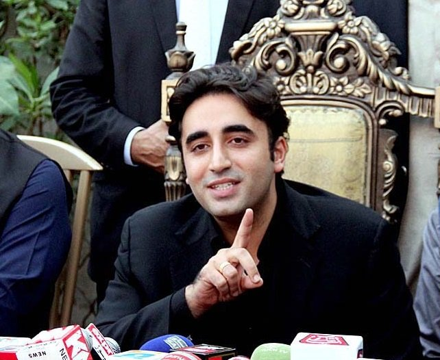 PPP Chairman Bilawal Bhutto Zardari . PHOTO:APP/FILE