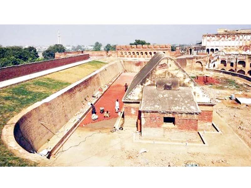tale as old as time labyrinth of tunnels discovered under lahore fort