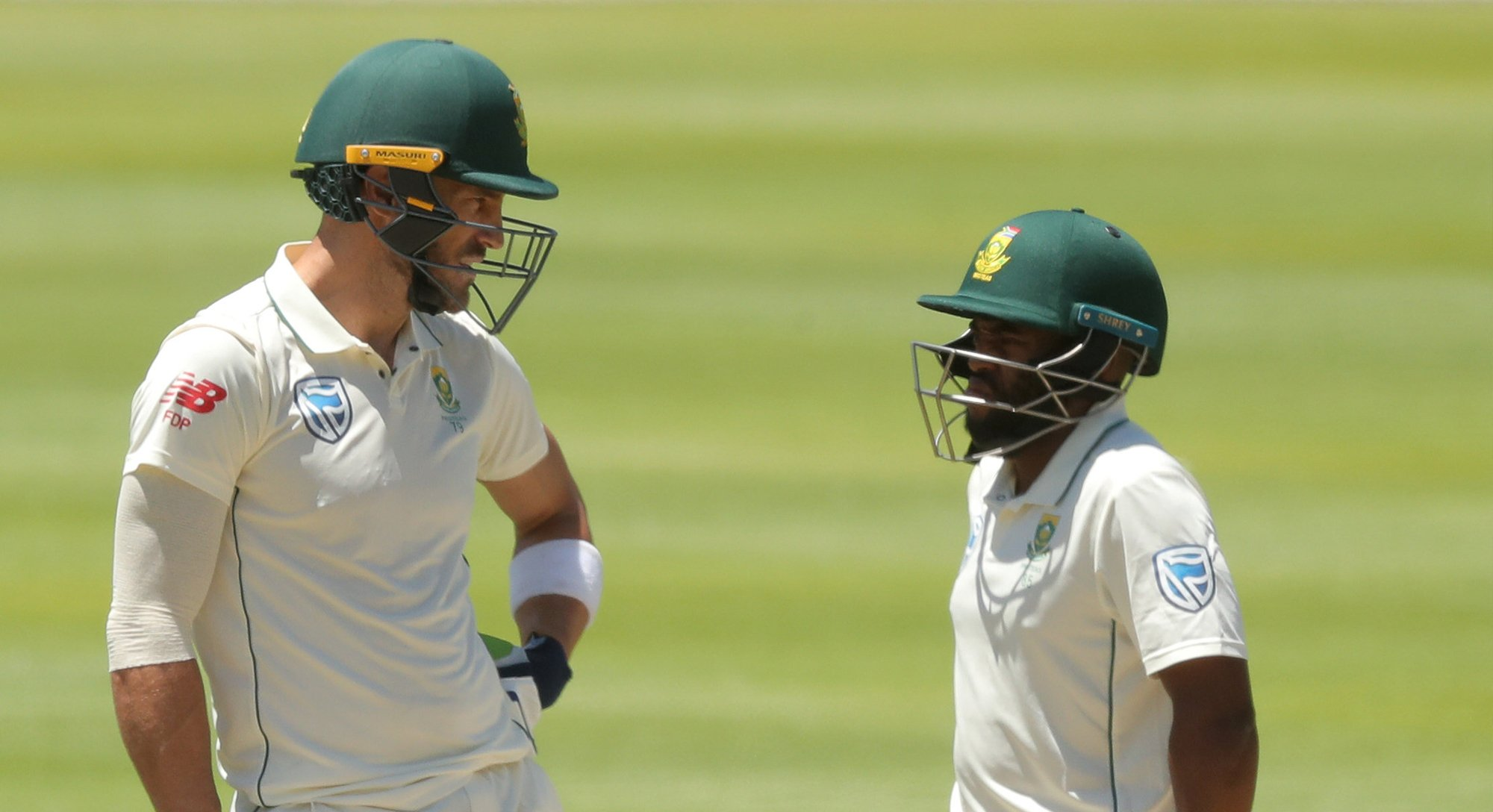 second test south africa firmly on top in cape town