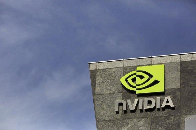 The logo of technology company Nvidia is seen at its headquarters in Santa Clara, California February 11, 2015. PHOTO: REUTERS