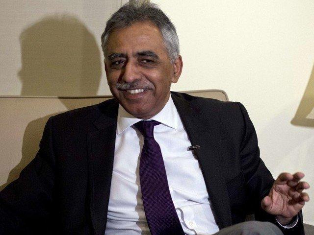 sindh governor muhammad zubair photo reuters