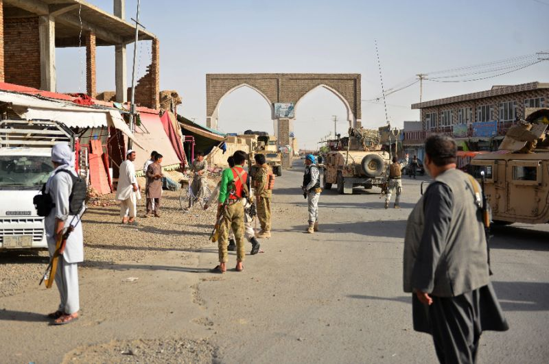 Afghanistan's largest militant group made significant territorial gains in 2018, including overrunning Ghazni city. PHOTO: AFP