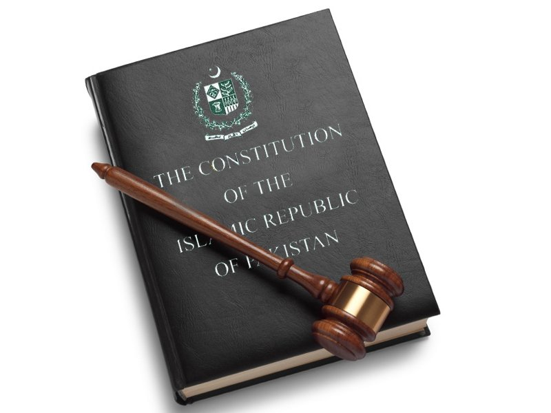 the constitution of the islamic republic of pakistan photo file