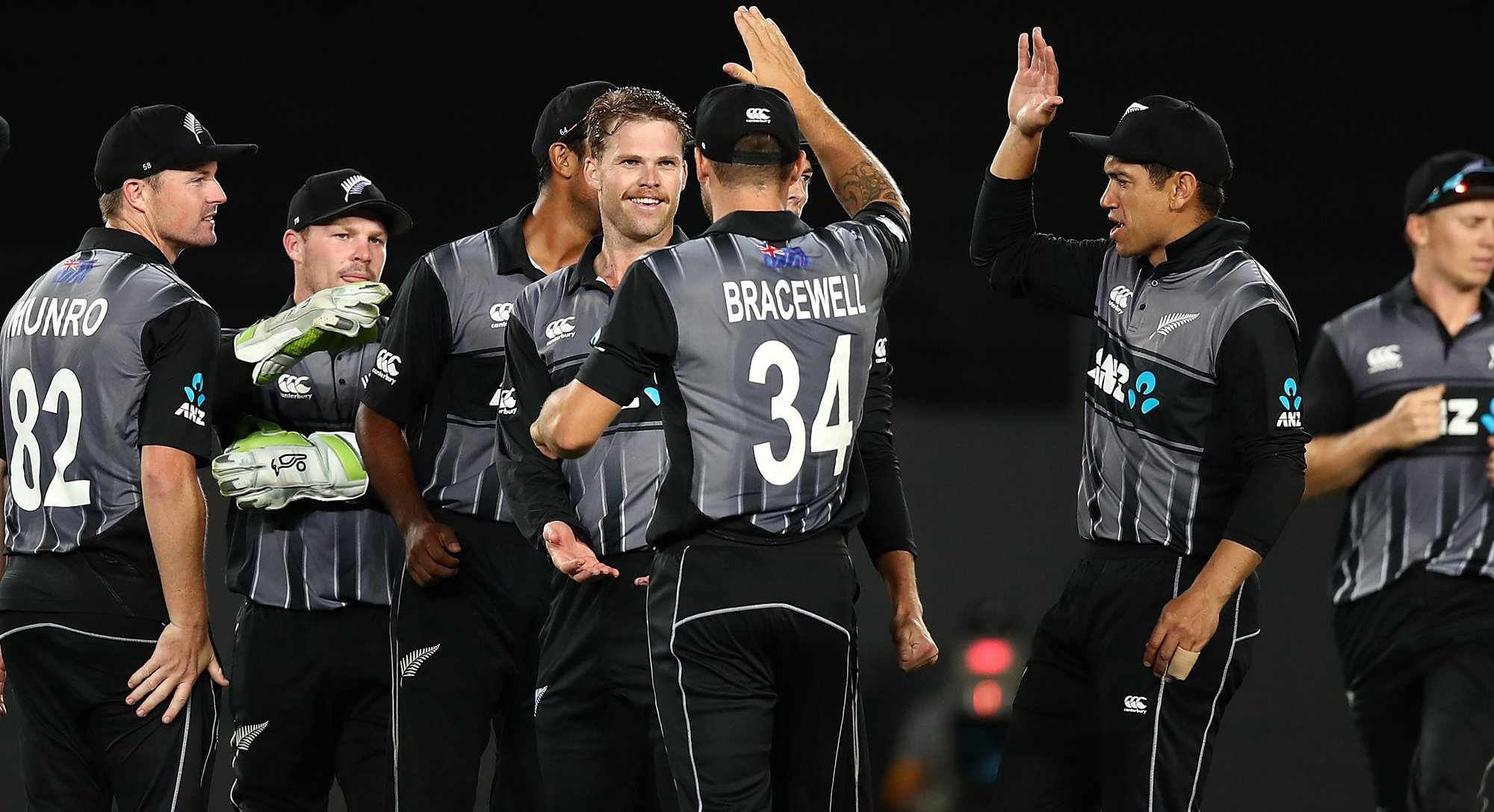 ferguson helps new zealand down sri lanka in only t20i