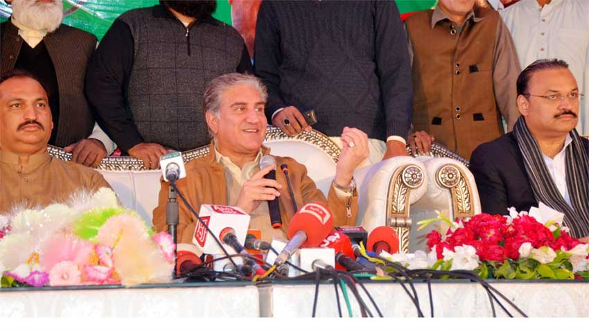 Foreign Minister sought the support of opposition for the creation of a province in South Punjab. PHOTO: RADIO PAKISTAN