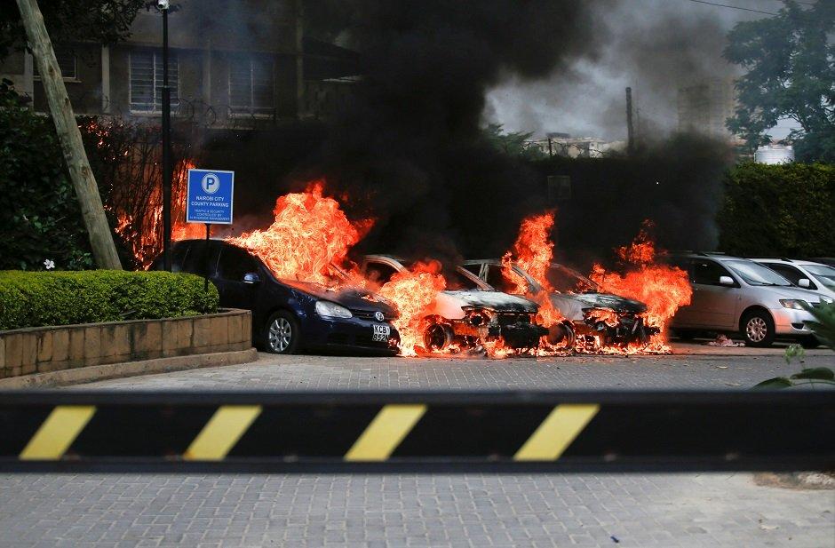 gunmen kill 15 in kenya hotel compound attack