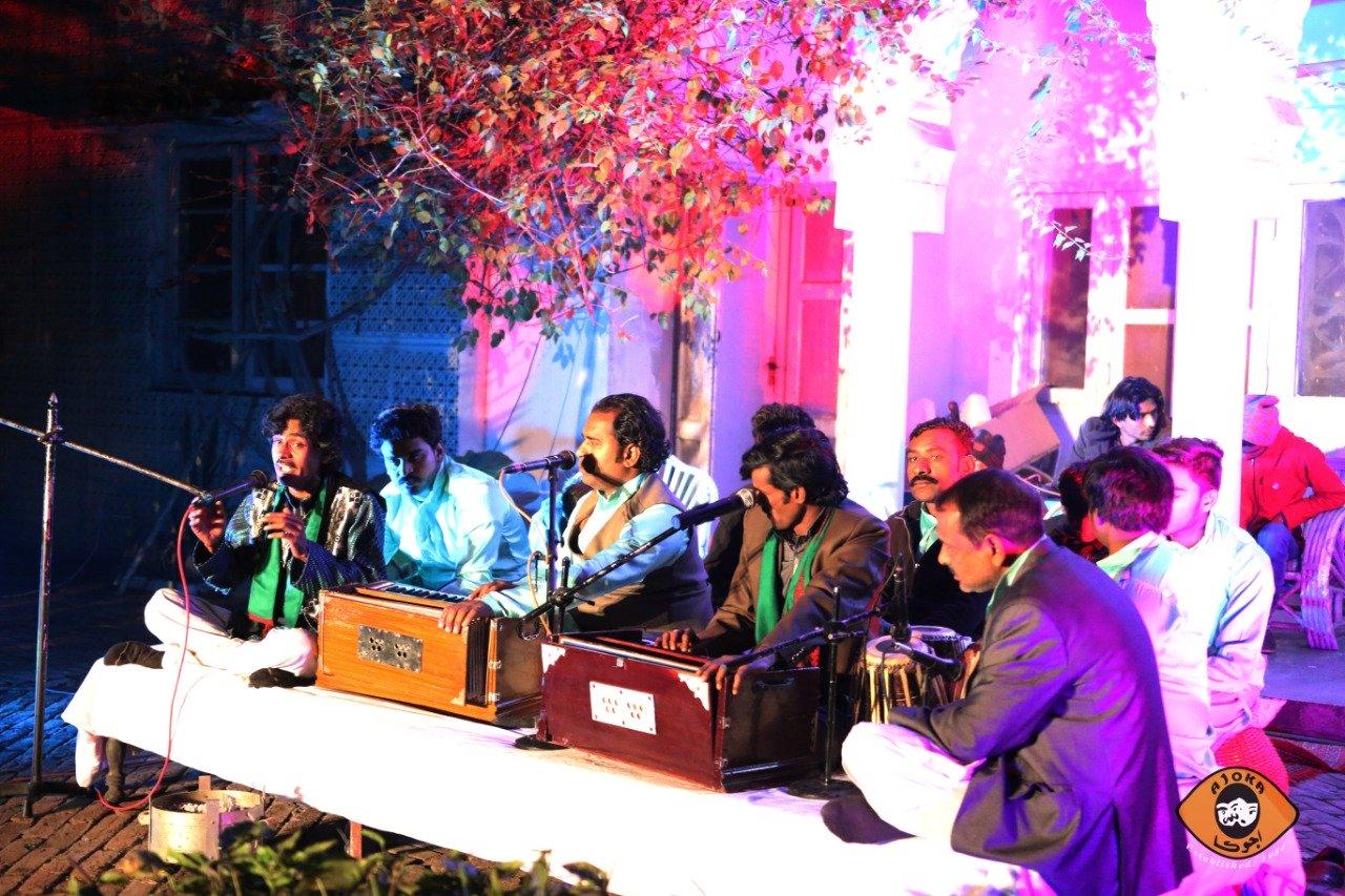 ajoka s absolut qawwali enthralls audiences with soul stirring music