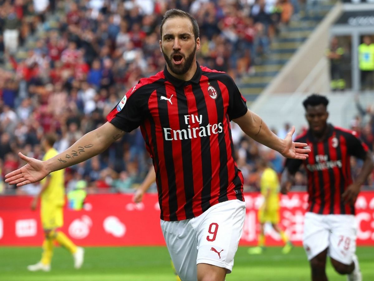 chelsea agree higuain loan from juventus