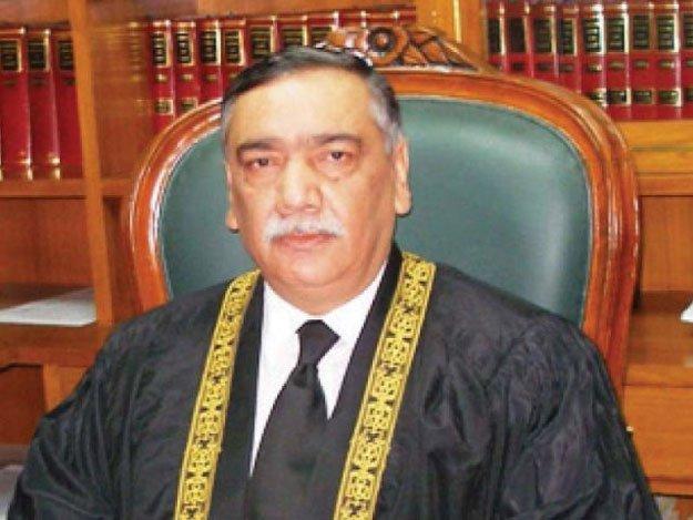 justice asif saeed khosa photo file