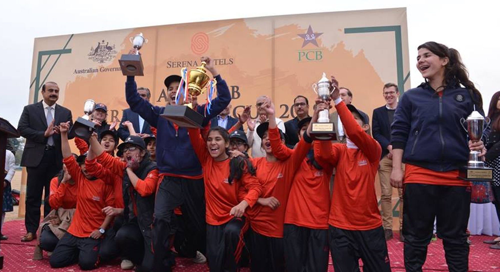 ahc pcb join hands to empower girls through cricket