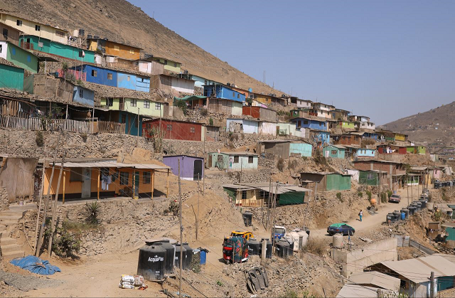 The 3.8 billion people at the bottom of the scale saw their wealth decline by 11 per cent last year. PHOTO: REUTERS