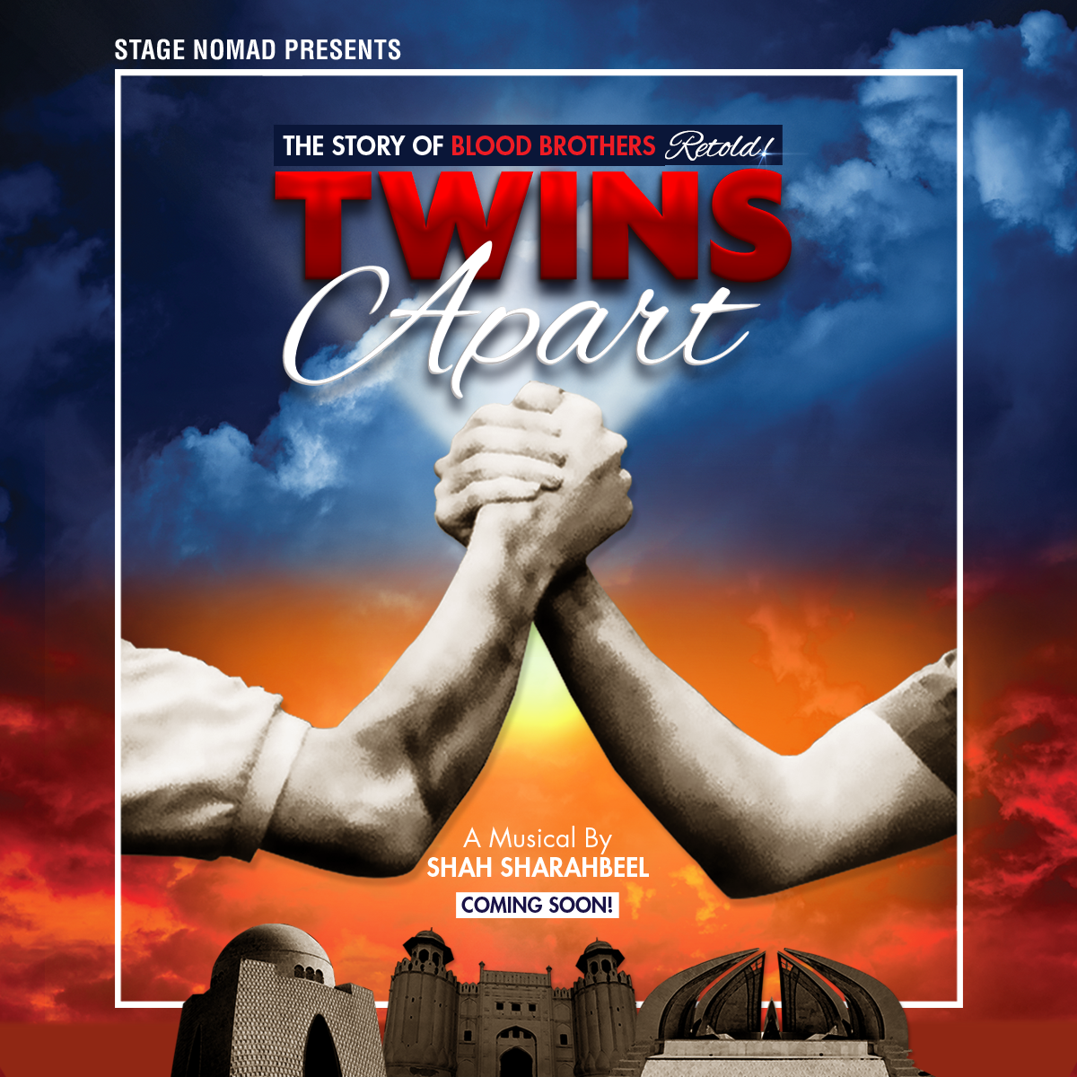 shah sharabeel to make a comeback with twins apart musical