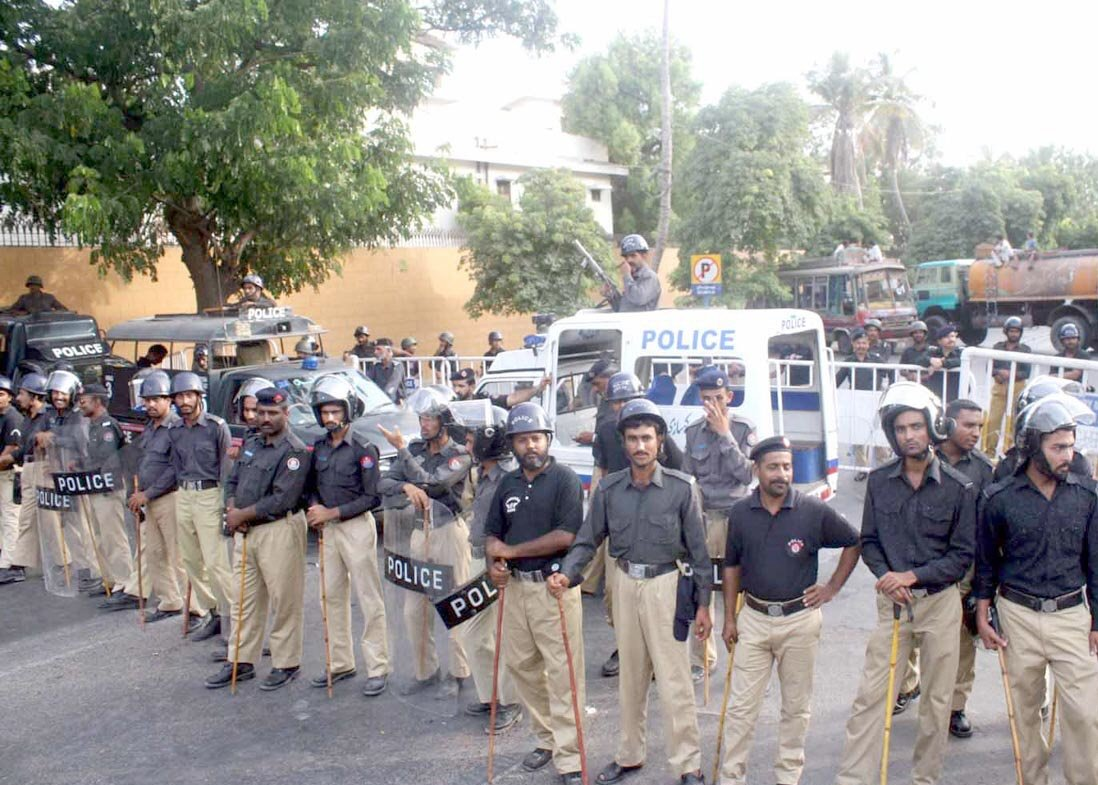 karachi police photo nni file