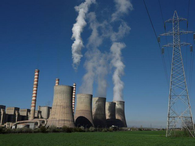 a view of the coal fired power station photo reuters
