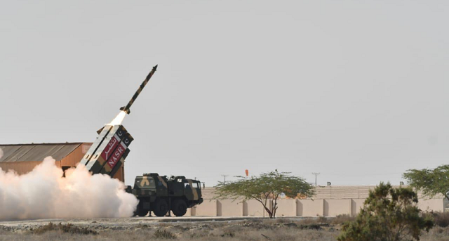 The missile would enhance the operational capability of armed forces.PHOTO: ISPR
