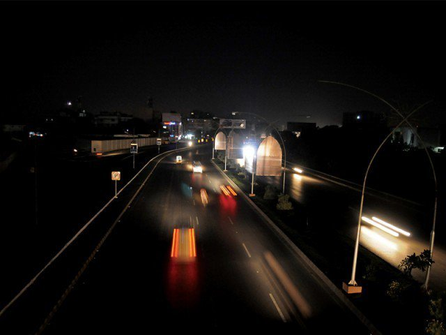 karachi suffers another power breakdown